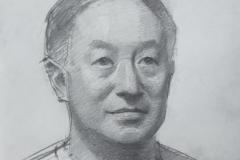Портрет Ся Бойю. б.,карандаш. 2018 г. 42х30