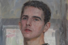 Автопортрет. х., м. 2018 г. 39,5х29