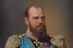 Портрет Александра III. х.,м. 2017 г. 80х60 2