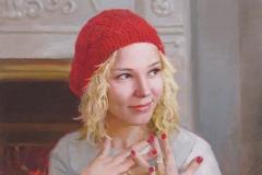 Портрет девушки. х.,м. 2015 г. 60х50