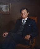 Портрет адвоката. х.,м. 2018 г. 80х60