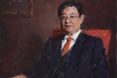Эскиз портрета адвоката. к.,м. 2018 г. 22х17,5