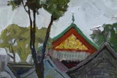 Крыши Китая. к.,м. 2016 г. 23х14