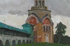 Свечная башня. к.,м. 2016 г. 25х15