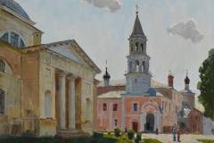 Борисоглебский мужской монастырь. х.,м. 2016 г. 47х63
