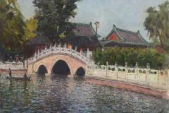Пекинский парк, х.,м. 2017 г
